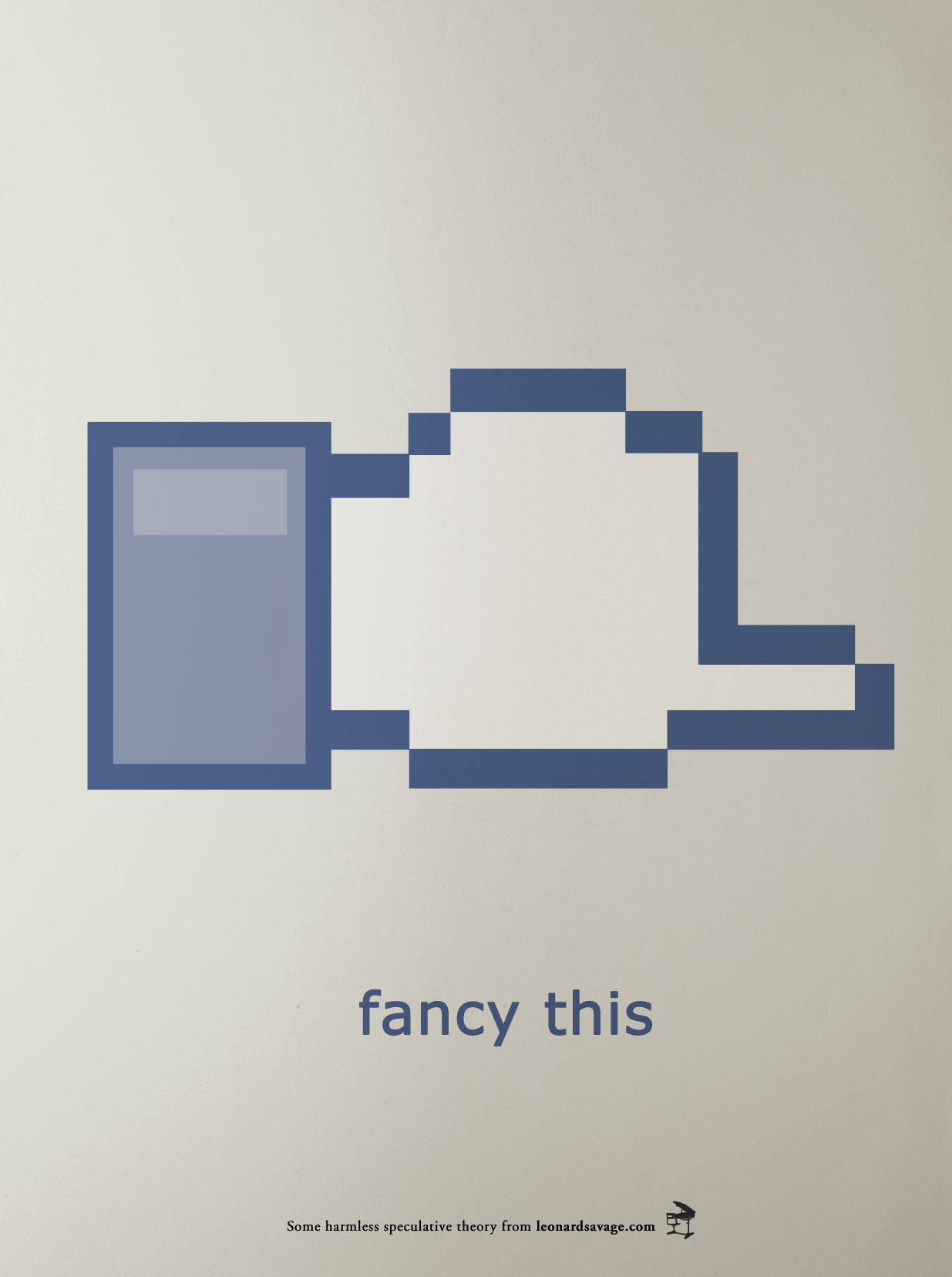 Icon im Facebook-Stil